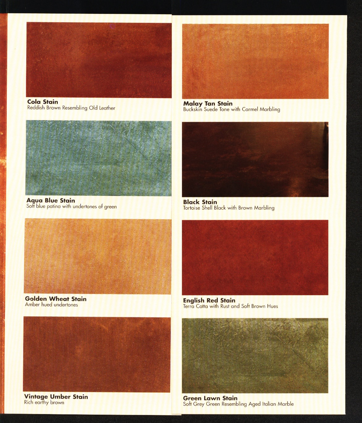 Kemiko acid stain color chart staing nvjuhfo Image collections