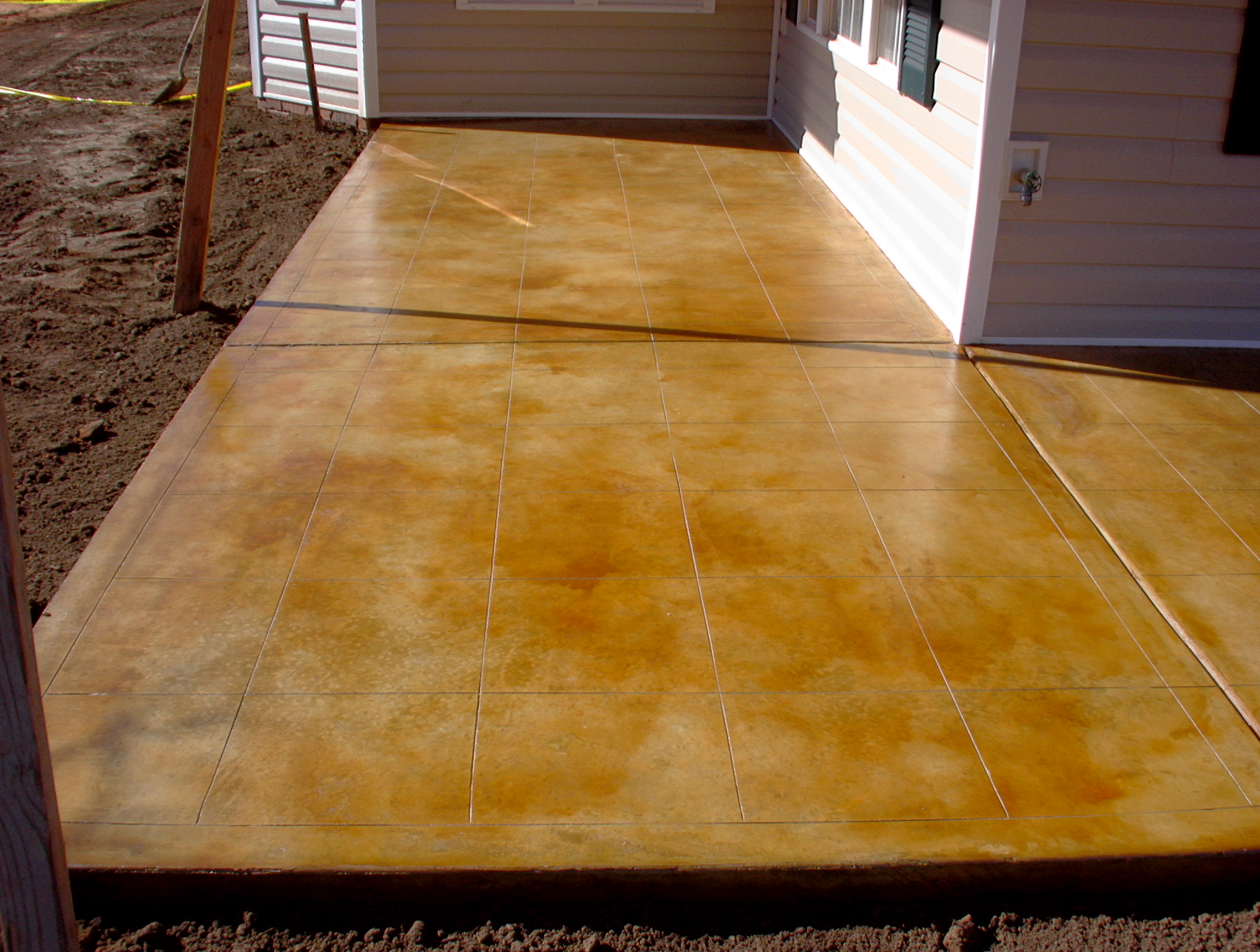 Acid stained concrete pictures for How to clean acid stained concrete