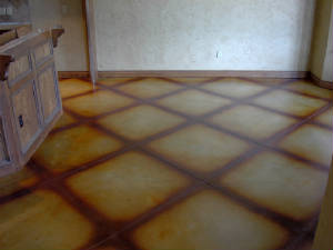 Stained Concrete in Tulsa, Oklahoma