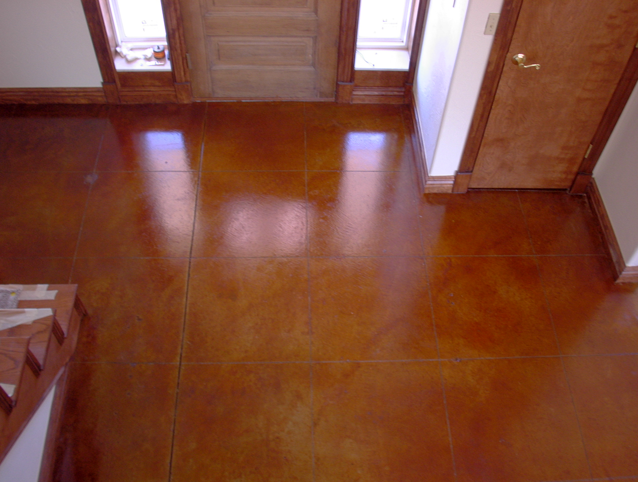 1000 images about floors stained concrete on pinterest for How to maintain stained concrete floors